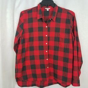 Gap Flannel Shirt Size XL
